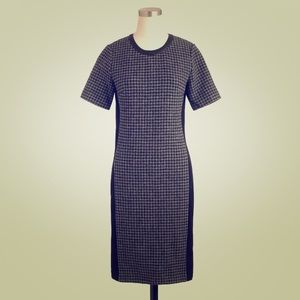 J. Crew houndstooth dress